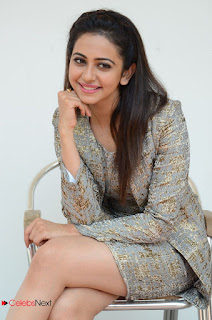 Actress Rakul Preet Singh Latest Picture Gallery in Short Dress  0087.JPG