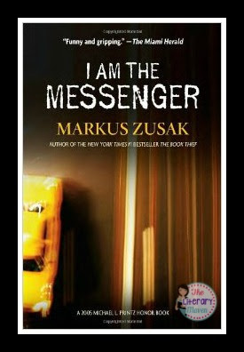 In I Am The Messenger by Markus Zusak, Ed begins receiving mysterious messages from an unknown sender directing him to help, and when necessary, hurt people in his town as a means to make things right. After helping strangers, Ed must take actions that will impact the lives of those closest to him and eventually his own.