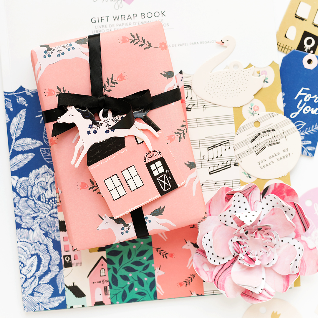 gift wrap book willow lane #cratepaper