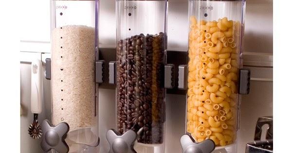 Dosificador Para Granos: DISPENSADOR CON 3 FRASCOS PARA CEREALES, GRANOS, FIDEOS Y