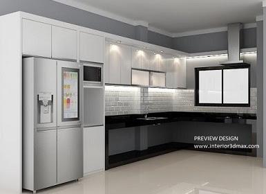 Design 3dmax Kitchen Set Arusha Desain