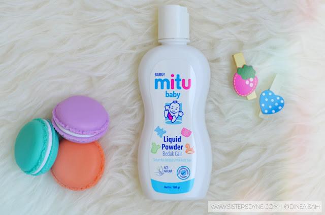 Review Mitu Baby Liquid Powder