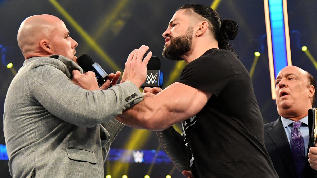 Adam Pearce pode ser substituído por lutador surpresa no WWE Royal Rumble