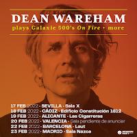 Conciertos en España en 2022 de Dean Wareham