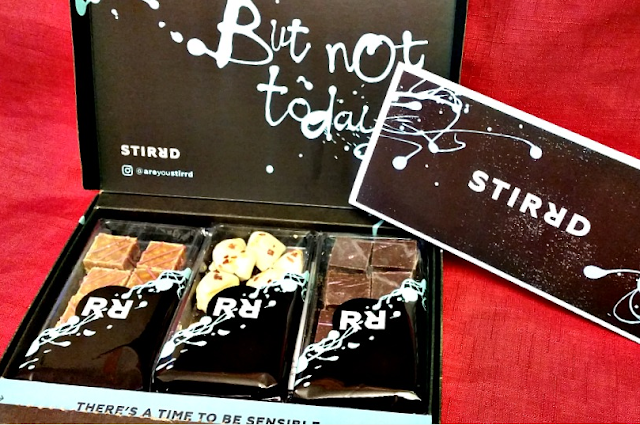 STIRRD box of fudge
