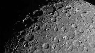 चंद्रमा की सतह के लिए पहली बार मापा रेडिशन
