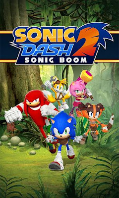 Download Sonic Dash 2: Sonic Boom APK MOD For Android