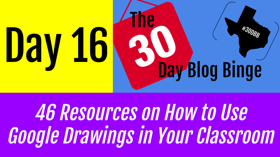 texas ed tech 46 resources on how to use google drawings in your
