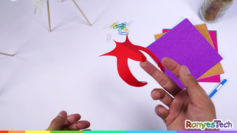 Make a Paper Balancing Bird