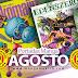📌 Portadas Manga Alusivas de AGOSTO 🍜🎌 ¡Usa mascarilla & lávate las manos!