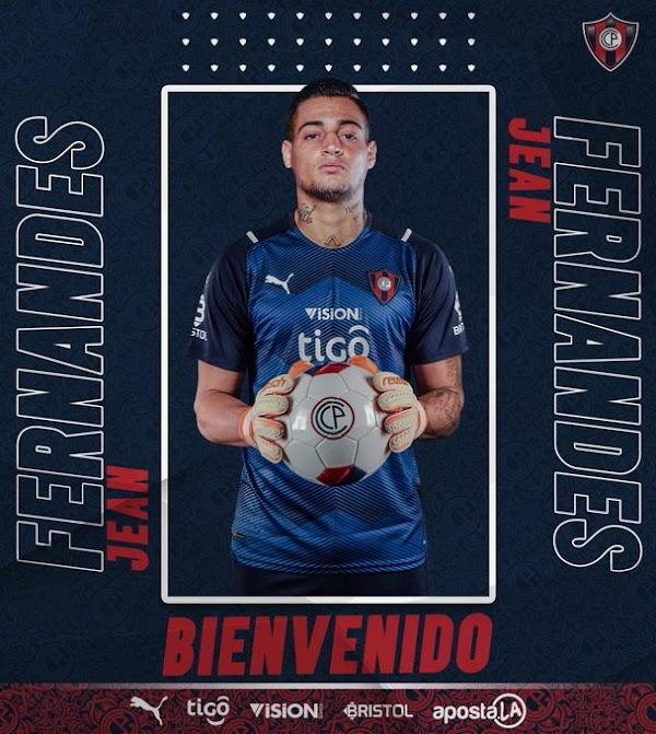 Oficial: Cerro Porteño, firma Jean Paulo