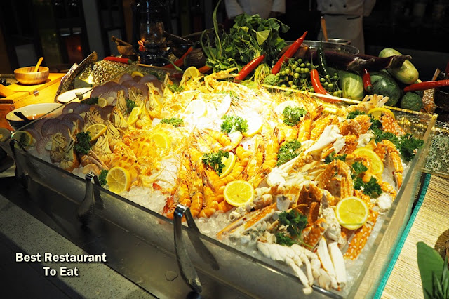 Variety Of Fresh Seafood-On-Ice