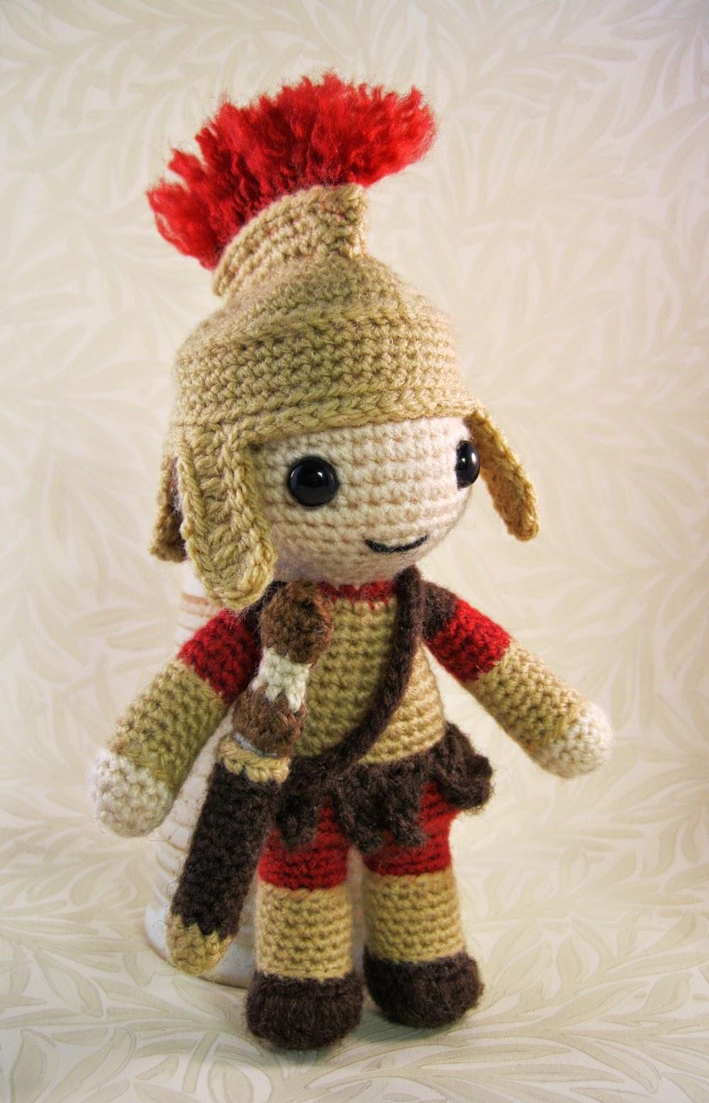 LucyRavenscar - Crochet Creatures: Roman Soldier Amigurumi ...