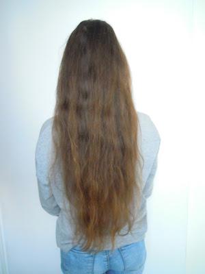Aktualizacja włosów po 2 miesiącach - styczeń,luty 2015