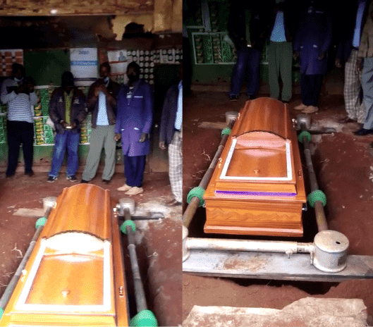 Simon Muriithi is a famous tea farmer burial in his bedroom photo