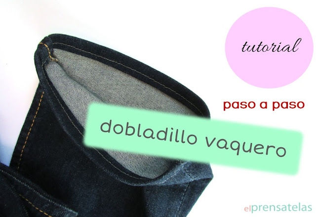 Tutorial dobladillo vaquero