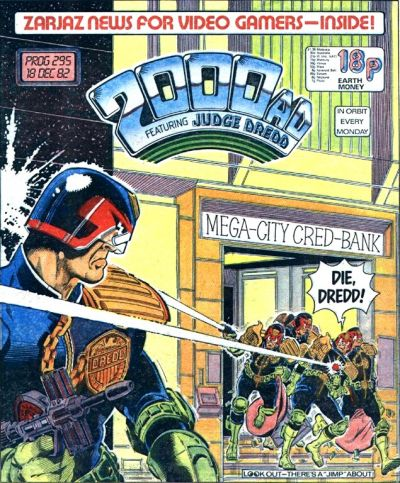2000 AD Prog 295, Judge Dredd