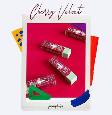 faraalipbutter cherry velvet, faraalipbutter subang jaya