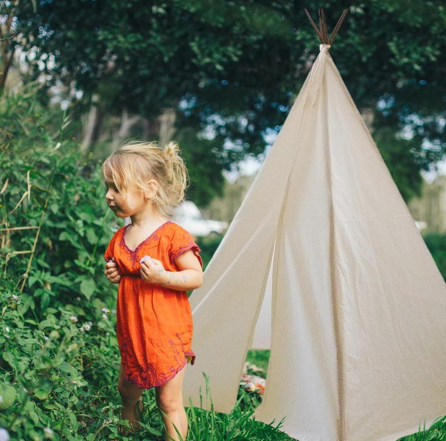 Vaak de dromenfabriek: DIY: Maak zelf een tipi tent #TI73