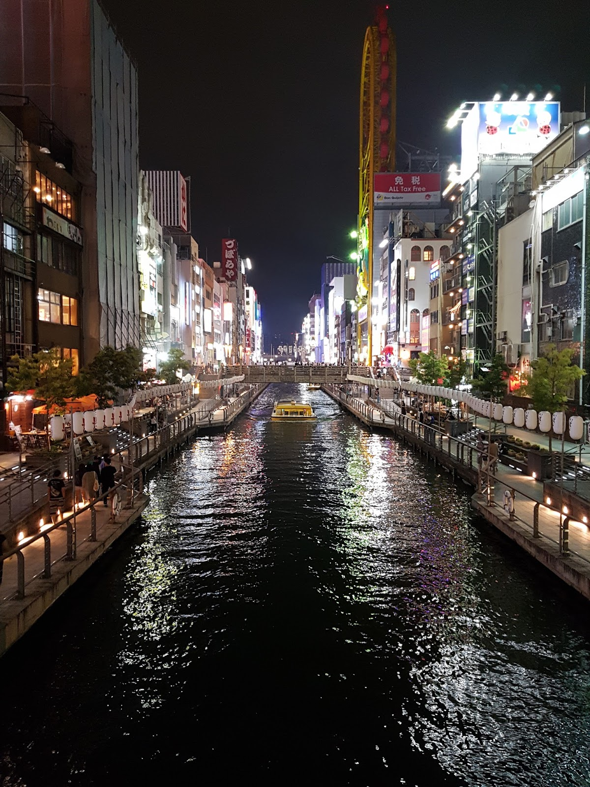 Dotonbori at night, Osaka