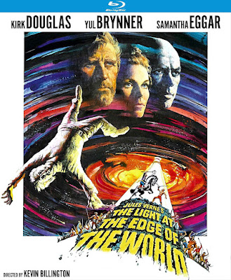 Cover art for Kino Lorber's Blu-ray of THE LIGHT AT THE EDGE OF THE WORLD!