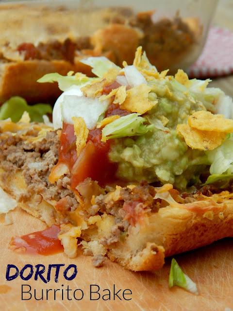 Dorito Burrito Bake (sweetandsavoryfood.com)