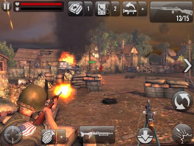 تحميل لعبة حرب 2018 Apk Obb 300mb Frontline Commando D Day مهكرة