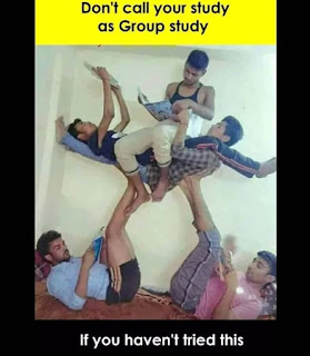 """group study memes"", ""exam memes"", ""school memes"""