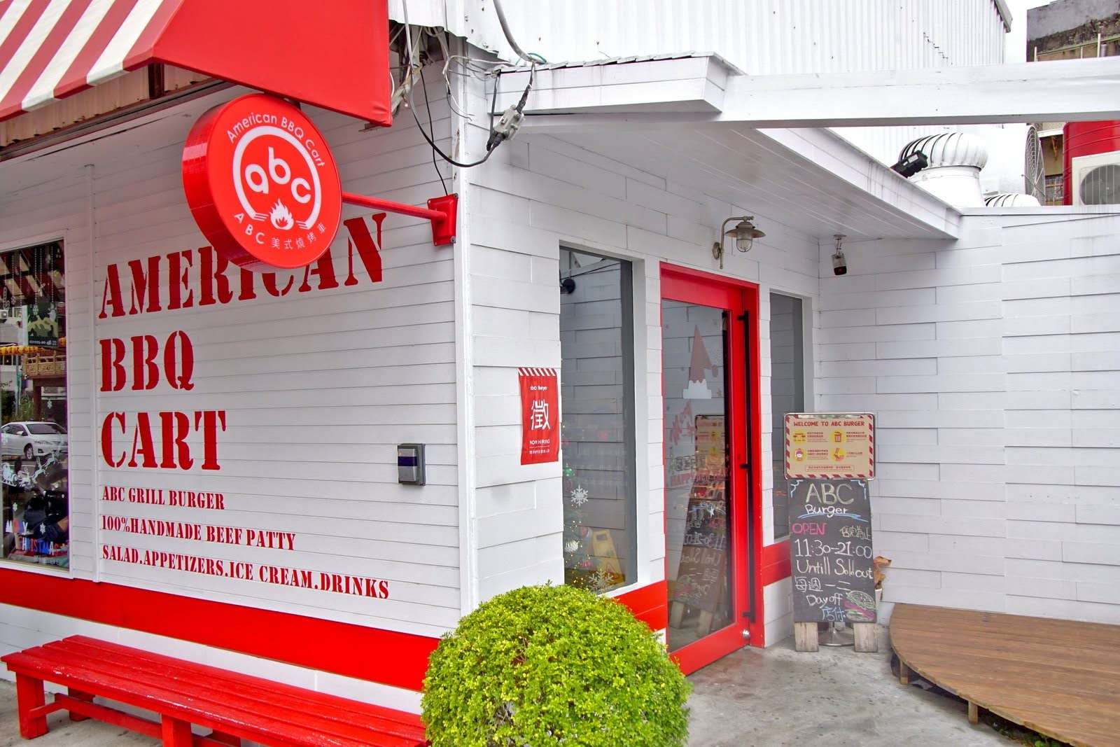 [台南][中西區] abc美式燒烤車 American BBQ Cart 尊王路打卡新熱點 原大菜市 食記