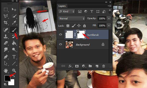 42 Cara Edit Foto Ada Hantu Terbaru