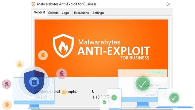 Malwarebytes Anti-Exploit برنامج الحماية