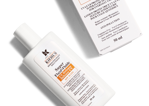Kiehl's Super Fluid UV Defense SPF 50 Review Best Sunscreen Sensitive Oily Skin