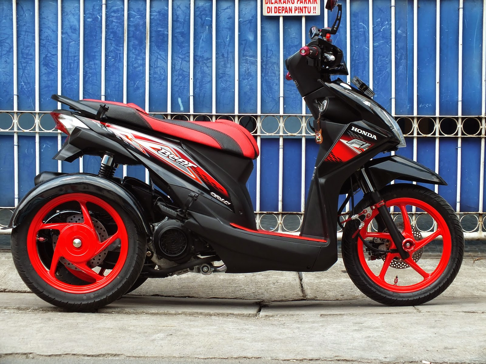 Oracle Modification Concept HONDA BEAT RODA 3 Konsep MIDDLE CLASS