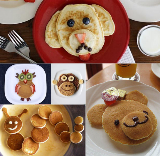 Kid Making Pancakes In Class