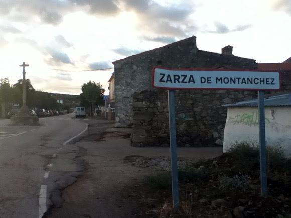 Solo se ve en Zarza de Montánchez (Cáceres- España)
