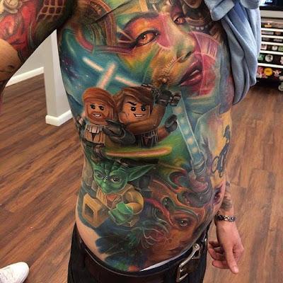 Torso tattoo