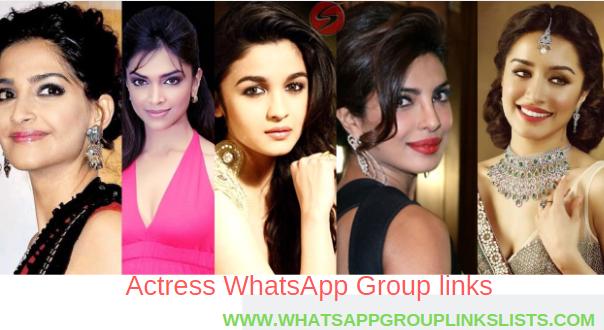 Join Actress WhatsApp Group Links List