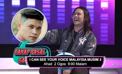 LIVE I Can See Your Voice Malaysia 3 Minggu 18 (2.8.2020)