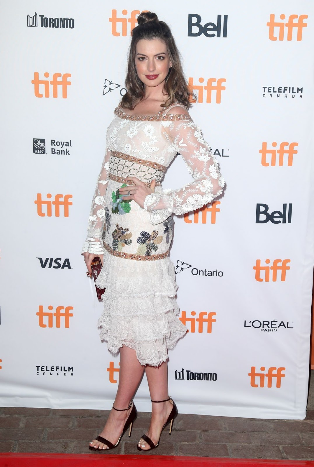TIFF 2016 HQ Photos - Anne Hathaway At Colossal Premiere At 2016 Toronto International Film Festival