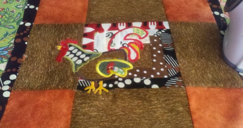 Rocknquilts Quilting by Embroidery Machine and Piecing in