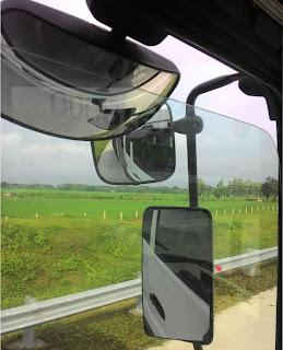 kaca blind spot pada truk