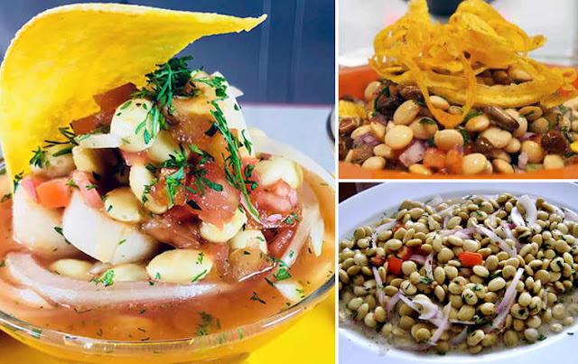 receta de cebiche de chocho o tarwi