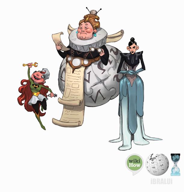 creativas-ilustraciones-de-personajes-brahim-bensehoul
