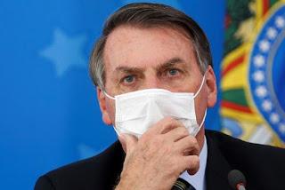 Jair Bolsonaro testa positivo para à covid-19