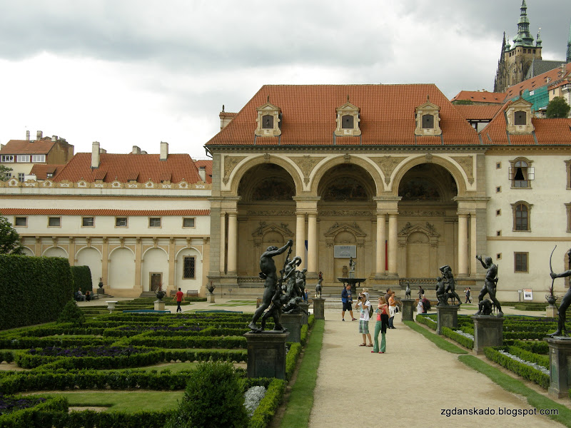 Praga - Valdštejnská zahrada