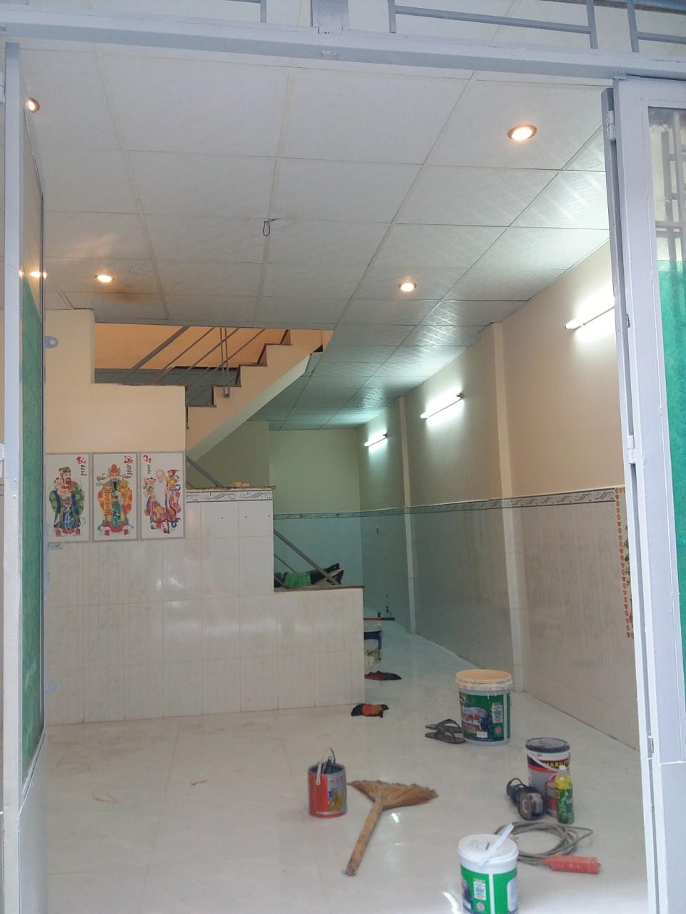 Bán nhà hẻm một sẹc Lý Thánh Tông Quận Tân Phú, diện tích 4mx10m, 1 trệt 1 lầu, giá bán 3,5 tỷ. 2