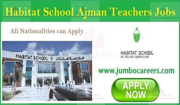 Urgent School Job in Ajman, Current Jobs in Ajman,