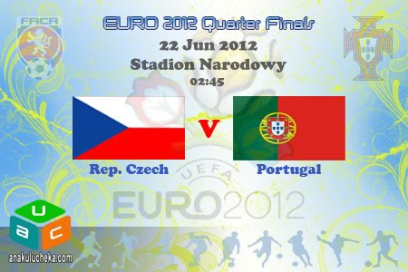 Rep.Czech%2Bvs%2BPortugal%2BEURO%2B2012 Rep. Czech vs Portugal | EURO 2012 Quarter Finals | Live Streaming