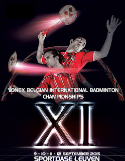 Yonex Belgian International 2015 live streaming and videos