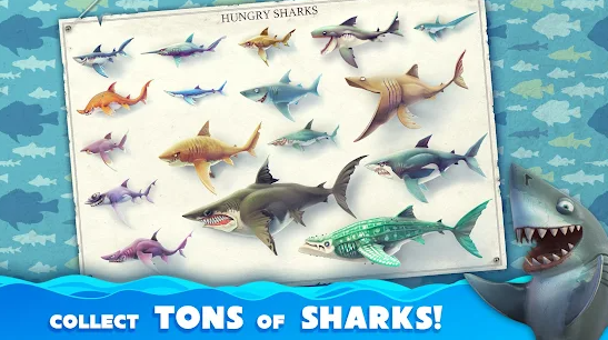 hungry shark world unlimited coins and diamonds